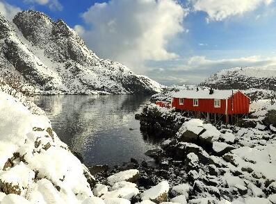 Winter in Norway as the best travel time